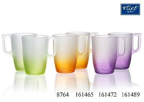 Ritzenhoff & Breker Flirt Henkelbecher, Becher, Kaffeebecher, Tasse, Grün Spacy, 320 ml, 161465
