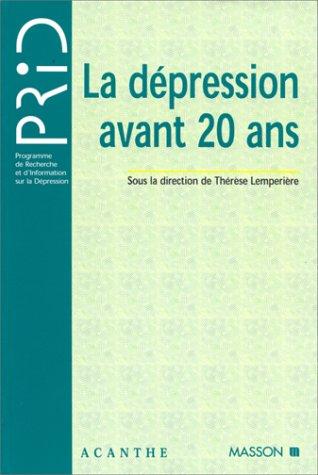 La dépression avant 20 ans