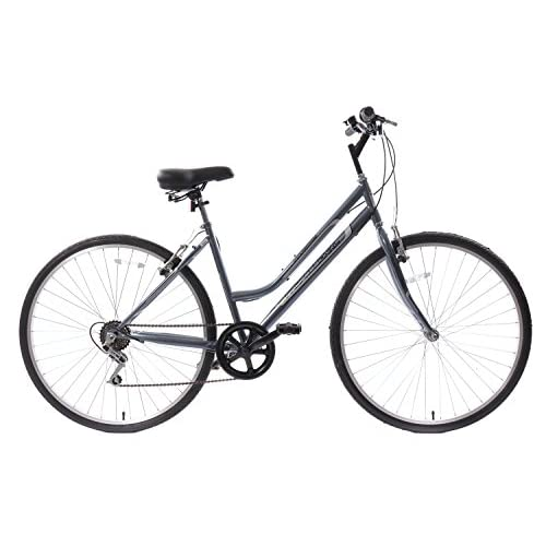 "419S4 cpW4L. SS500  - Professional Premium Womens 700c Hybrid Commuter Bike 18"" Frame 6 Speed Grey"