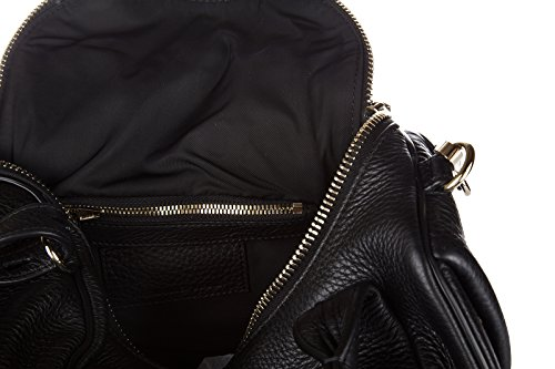 205160001 Alexander Wang Sac a Bandoulière Femme Cuir Noir Noir