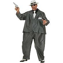 Widmann 4501G - Adult Costume Dicker traje de gángster con neumáticos, chaqueta y corbata, un tamaño