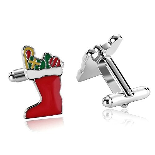 adisaer-stainless-steel-cufflinks-for-men-christmas-stockings-silver-red-business-wedding-cufflink