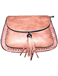 FASHION Abstract Leather Cross Body Sling Bag For Girls & Women Both