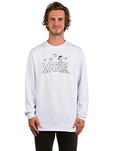 Vans Herren Sweatshirt X Peanuts Crew White