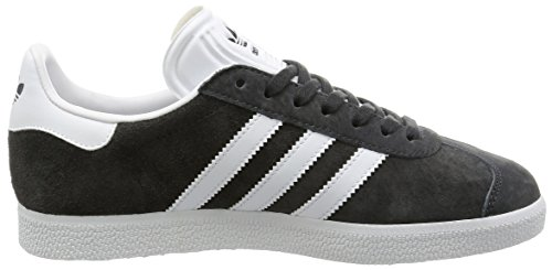 adidas Gazelle, Baskets Basses Mixte Adulte Gris (Dgh Solid Grey/White/Gold Met.)