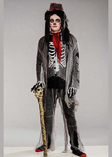 Halloween Deluxe Voodoo Kostüm für - Voodoo Hexe Arzt Kostüm
