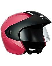 Vega BUD-OF-P Half Face Helmet (Pink, XS)