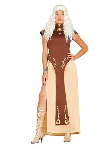 Disfraz Reina Dragón guerrera mujer - Único, L