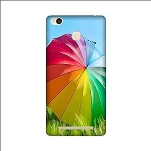Yashas High Quality Designer Printed Case & Cover for Xiaomi Redmi 3S Prime (Colorful umbrella)