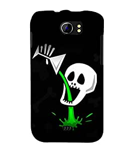 PrintVisa Geen Drink Lover 3D Hard Polycarbonate Designer Back Case Cover for Micromax Canvas 2 A110Q :: Micromax A110Q Canvas 2 Plus :: Micromax Canvas 2 A110