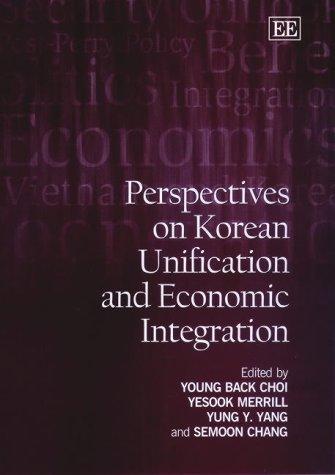 Perspectives on Korean Unification and Economic Integration Back Platform Sandal