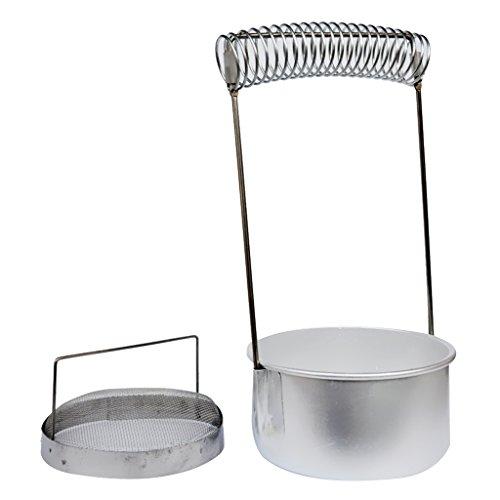 Aluminium-waschmaschine (1x sharplace Bürste Waschmaschine Aluminium von Bad Halter Spring Öl Paiting Werkzeug)