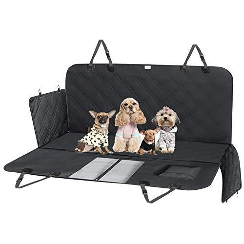 Große wasserdichte Haustier Sitzbezug Für Autos/Haustier Sitzbezug/Dog Cargo Protector Mat - Seitenklappen Design & Excellent Pad Für Haustiere -