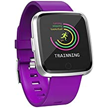 IrahdBowen Smart Watch Tensiómetro de HD de Pantalla en Color – Rastreador de Fitness con pulsómetro