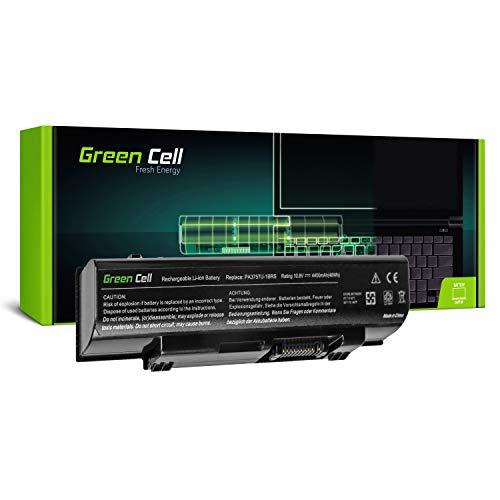 Green Cell Standard Serie PA3757U-1BRS Laptop Akku für Toshiba Qosmio F60 F750 F755 (6 Zellen 4400mAh 11.1V Schwarz) -