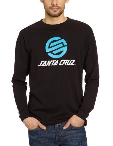 Santa Cruz STRIP KNOT 2 T-shirt mixte à manches longues noir