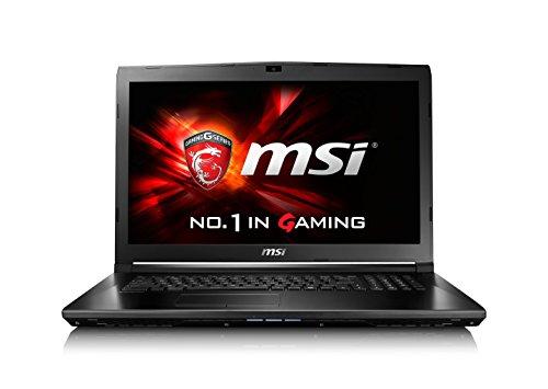 "MSI GL72 6QD-019XFR Ordinateur Portable Non tactile 17""(43,18 cm) Noir (Intel Core i5, 4 Go de RAM, 1 To, Nvidia GeForce)"
