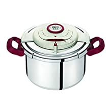 Tefal Clipso Precision Pressure Cooker, P4411562, Silver, 10 litre, Stainless Steel