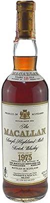 Rarity: The Macallan Single Highland Malt Scotch Whisky vintage 1975, 18 years old, original bottling, 0,7l, 43% vol./alc., bottled 1993