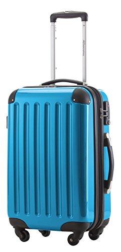 HAUPTSTADTKOFFER Hartschalen Koffer · 3 Koffergrößen (45 Liter · 87 Liter · 130 Liter) · Hochglanz · Entweder mit Normalen oder TSA Zahlenschloss · CYAN...