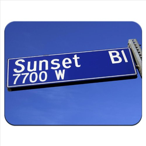 sunset-boulevard-road-sign-hollywood-california-premium-quality-thick-rubber-mouse-mat-pad-soft-comf