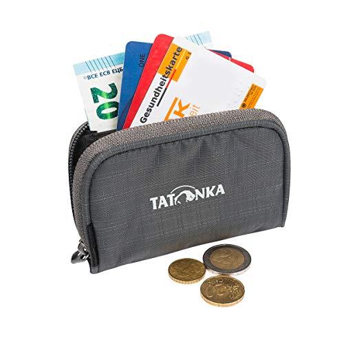 Tatonka Plain Wallet Geldbeutel, Titan Grey, 11 x 7 x 2 cm