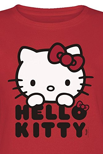Hello Kitty Classic Girl-Shirt Rot Rot