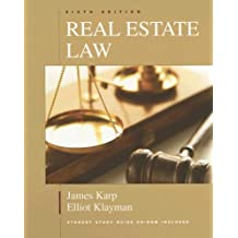 Real Estate Law (Real Estate Law (W/CD))