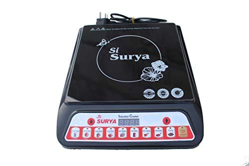 Si Surya eco Friendly 2000 watt Glass Plate Induction Stove