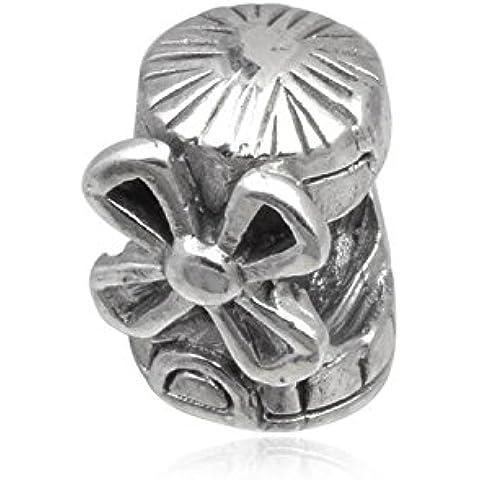 Molino de viento de la selección holandesa de plata de ley cuenta para pulsera - para pulsera tipo Pandora