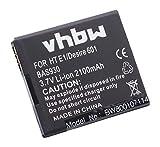 vhbw Li-Ion Akku 2100mAh (3.7V) für Handy Telefon Smartphone HTC Desire 501, 510, 510 LTE wie 35H00213-00M, BA S930, BM65100.