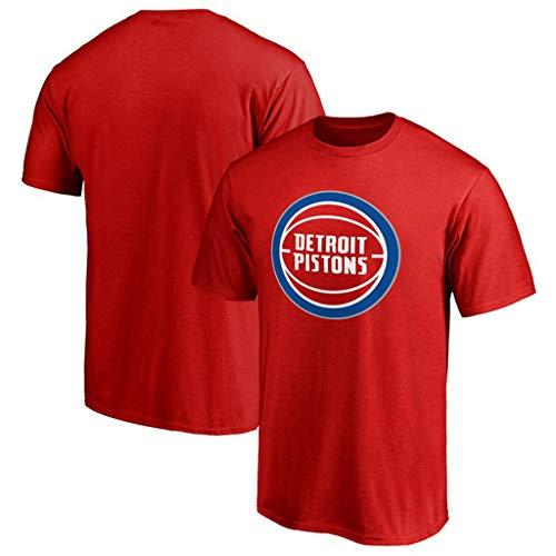ll Trikots Sommer Kurzarm T-Shirt Loose Jogging Herren Weiche Baumwolle Polo-Shirt Lässig Feste T-Shirts für Sport Laufen,A,XXL ()
