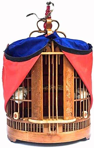 XWYGW Haustierbett Indoor-Vogelkäfig Durable Birdcage Classic Bird Cage Kultur Käfig Käfig Außen Flight Cage, Geeignet for Papageien/kleine Vögel -
