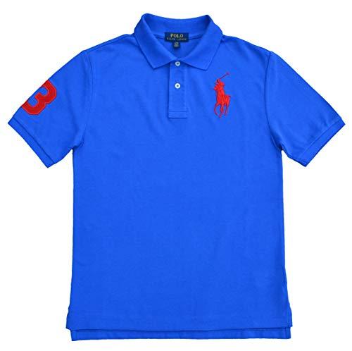 Ralph Lauren Poloshirt für Jungen Big Pony Polo Blau (XL (18-20 Jahre))