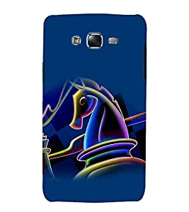 printtech Chess Horse Play Back Case Cover for Samsung Galaxy Quattro i8552 / Samsung Galaxy Quattro Win i8552