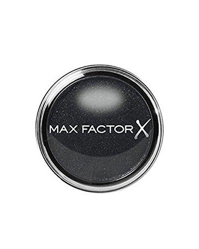 Max Factor Wild Shadow Pot Ferocious Black 10 - Schwarzer Puder-Lidschatten mit schimmerndem Finish - Für intensive Effekte und den perfekten Augen-Look