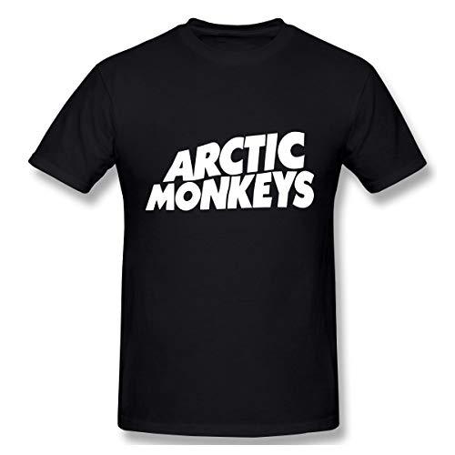 Gifetee Arctic Monkeys Hombres Comfort Camiseta Black 3XL