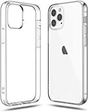 Shamo's Compatible with iPhone 12 Pro Max Case Clear (2020), Shockproof Bumper Cover Soft TPU Silicone Tra