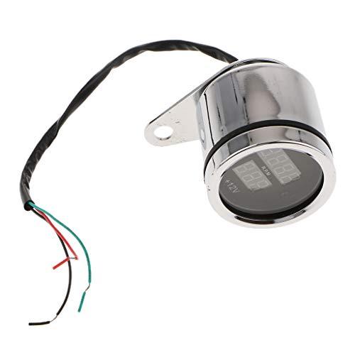 Homyl Universalmotorrad Tachometer Motorrad-Geschwindigkeitsmesser Motorrad-Instrument-Teile