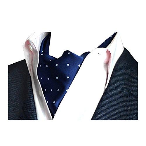 YCHENG Pañuelo Hombre Corbatas Elegante Lunares Cravat Chalina para Banquete y Boda Fiesta E01