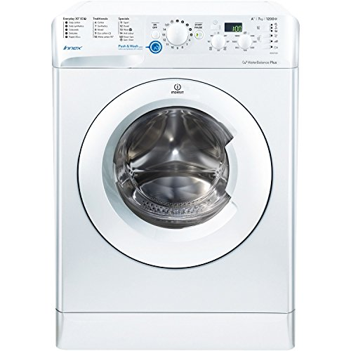 Indesit BWSD71252W Innex 7kg 1200rpm Freestanding Washing Machine White