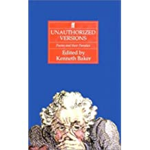 Unauthorized Versions: Poems and Their Parodies