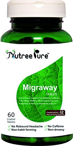 Nutree Pure Migraway Tablets - 60 Count