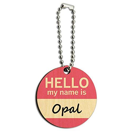 opal-bonjour-mon-nom-est-en-bois-rond-en-bois-cl-chane