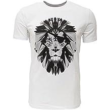Löwe mit Augenklappe - Hochwertiges T-Shirt aus Bio Baumwolle von dem Kölner Streetwear Label für Querdenker und Macher