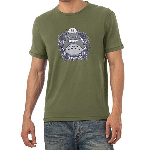 NERDO - Nachbarn - Herren T-Shirt Oliv