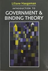Introduction to Government and Binding Theory (Blackwell Textbooks in Linguistics)