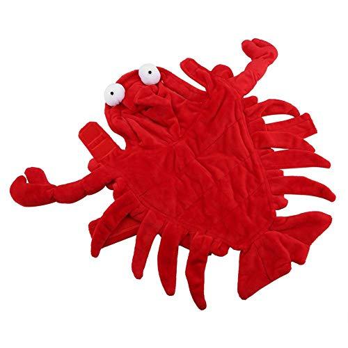 üm Bekleidung lustiger Hund Halloween Hummer Kostüm Kleidung für Weihnachten Geburtstagsfeier(S) ()