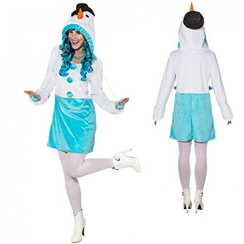 Für Kostüm Schneemann Erwachsene (Kostüm Schneefrau