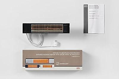 AEG Infrarot Strahler IP44